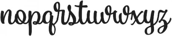 Vanilla Daisy SS 00 ttf (400) Font LOWERCASE
