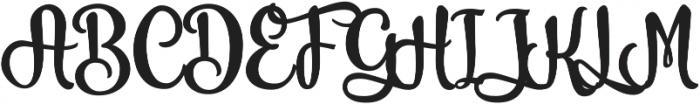 Vanilla Daisy SS 01 ttf (400) Font UPPERCASE