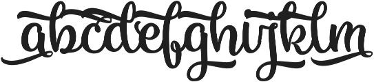 Vanilla Daisy SS 01 ttf (400) Font LOWERCASE