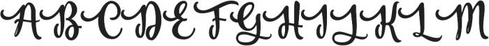 Vanilla Daisy SS 02 ttf (400) Font UPPERCASE