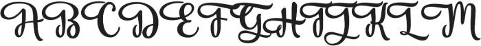 Vanilla Daisy SS 03 ttf (400) Font UPPERCASE
