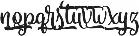 Vanilla Daisy SS 03 ttf (400) Font LOWERCASE