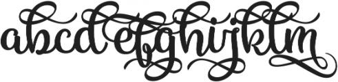 Vanilla Daisy SS 06 ttf (400) Font LOWERCASE