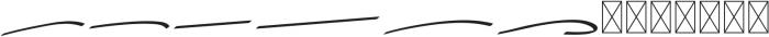 Vanilla Slant Swash ttf (400) Font LOWERCASE