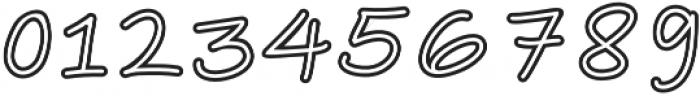 Vanilla Vibes Sans Hollow otf (400) Font OTHER CHARS