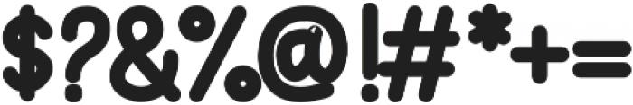 Vanillate Sans otf (400) Font OTHER CHARS
