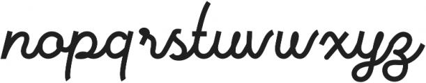Vanillate otf (400) Font LOWERCASE