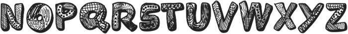 Variety ttf (400) Font UPPERCASE