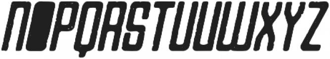 Varsita Rough Italic otf (400) Font UPPERCASE