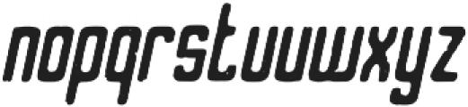 Varsita Rough Italic otf (400) Font LOWERCASE
