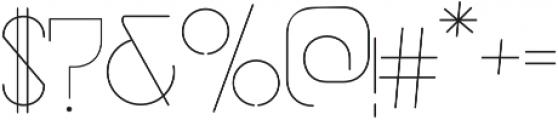 vastra Light otf (300) Font OTHER CHARS
