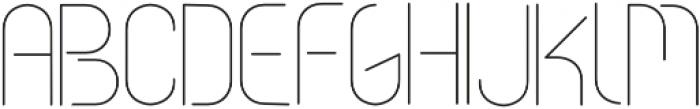 vastra Light otf (300) Font UPPERCASE