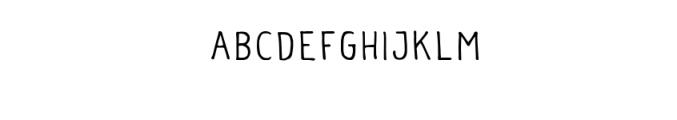 Vader Typeface Font UPPERCASE