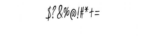 Vadimbrush Font OTHER CHARS