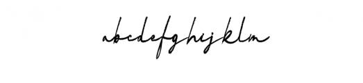 Vadimbrush Font LOWERCASE