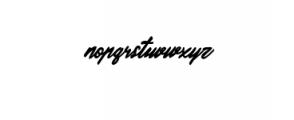 Valdemar Typeface Font LOWERCASE