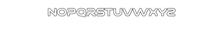 Varino-Outline.ttf Font UPPERCASE