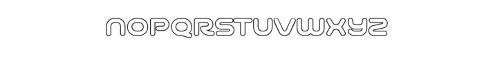 Varino-Outline.ttf Font LOWERCASE