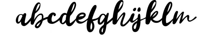 Vanilla Twilight // Handwritten Font Duo 1 Font LOWERCASE