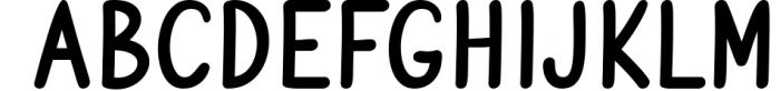 Vanilla Twilight // Handwritten Font Duo Font UPPERCASE