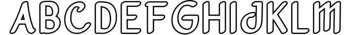 Vanjar - Sans Serif 1 Font UPPERCASE