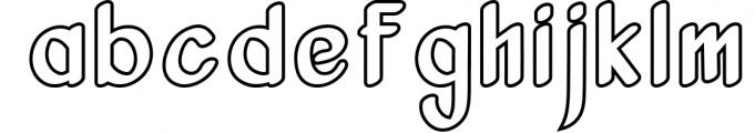 Vanjar - Sans Serif 1 Font LOWERCASE