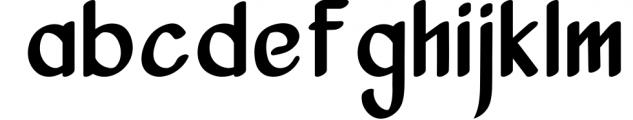 Vanjar - Sans Serif Font LOWERCASE