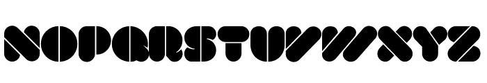 VAL Stencil Font UPPERCASE