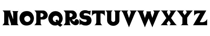 VASCA Font LOWERCASE