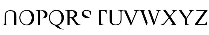 VAST Naked Font UPPERCASE
