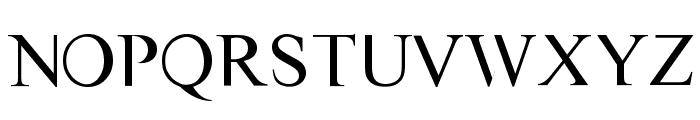 VAST Naked Font LOWERCASE