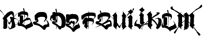 VATOS Font UPPERCASE