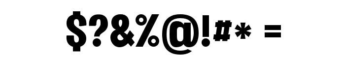 Vacer Sans Personal Black Font OTHER CHARS