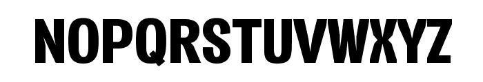 Vacer Sans Personal Black Font UPPERCASE