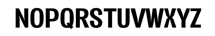 Vacer Sans Personal Bold Font UPPERCASE