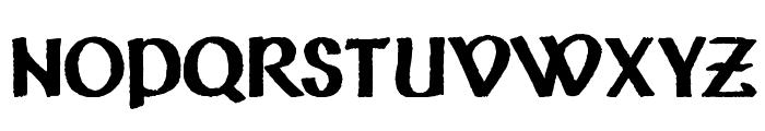 Vafthrudnir Font UPPERCASE