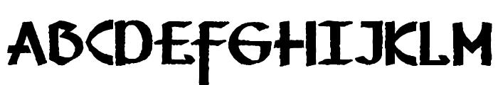 Vafthrudnir Font LOWERCASE