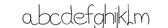Vague Font LOWERCASE