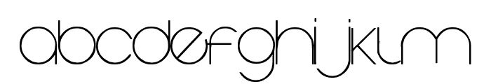 Vaguely Fatal Font LOWERCASE