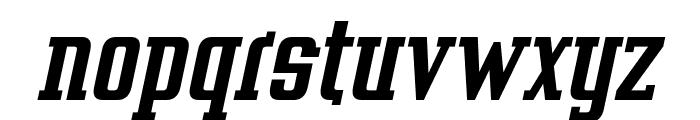 Vahika Bold Italic Font LOWERCASE