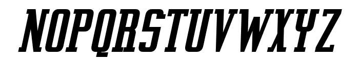 Vahika-BoldItalic Font UPPERCASE
