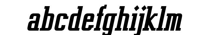 Vahika-BoldItalic Font LOWERCASE