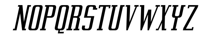 Vahika-Italic Font UPPERCASE