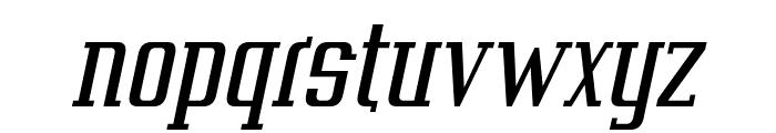Vahika-Italic Font LOWERCASE