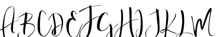 Valairya- Font UPPERCASE