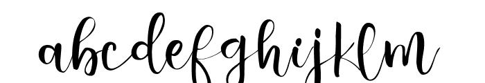 Valairya- Font LOWERCASE