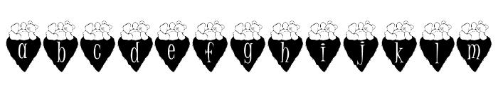 Valbears_kg Font LOWERCASE