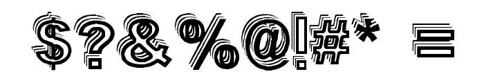 Vale Shadow Font OTHER CHARS
