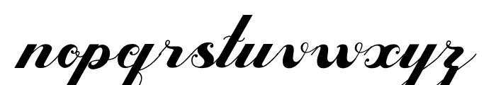 Valentijn FreeVersion Font LOWERCASE