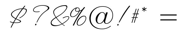 ValentinaJF Font OTHER CHARS